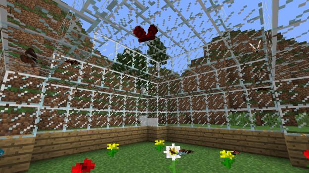Butterfly Mania Minecraft Mod