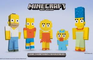 Los Simpson para Minecraft