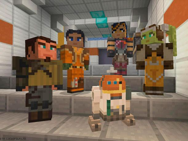 Minecraft Skins Star Wars Rebels